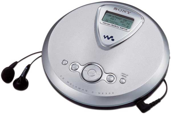 Guess The 90s Electronics Cd Player CD Walkman - Totally 90s