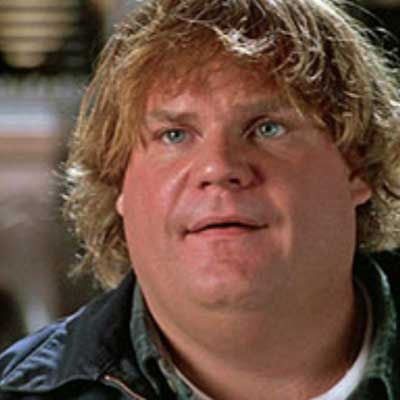 guess the 90s answers Chris Farley