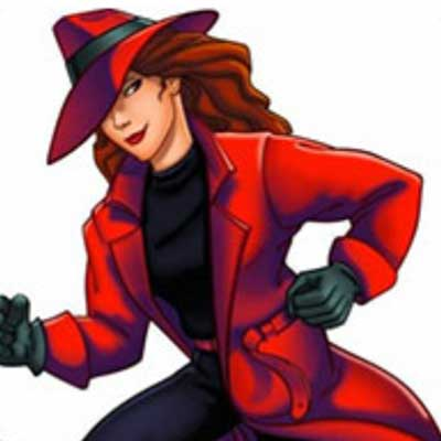 guess the 90s answers Carmen Sandiego