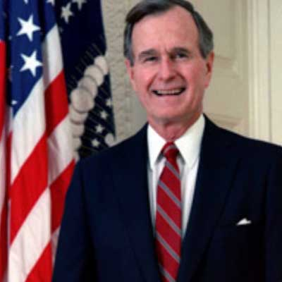 guess the 90s answers George Bush