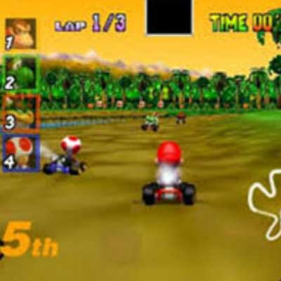 guess the 90s answers Mario Kart 64