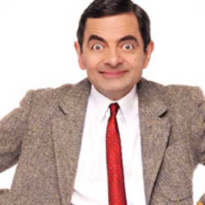 guess the 90s answers Mr. Bean