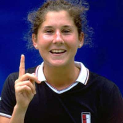 guess the 90s answers Monica Seles