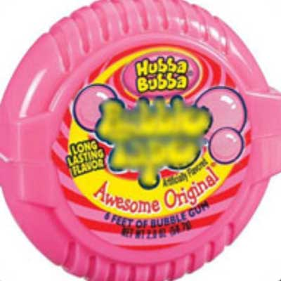guess the 90s answers Bubble Tape