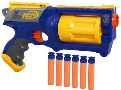 toys from the 90s - nerf