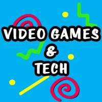 90s video games & tech